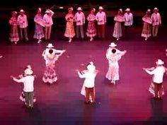 Hermoso folklore mexicano, danzón Nereidas.