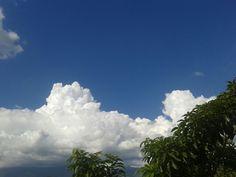 Nubes desde la oficina