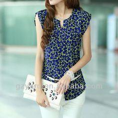 New_Style_of_Sleeveless_Floral_Print_Chiffon.jpg (480×484)