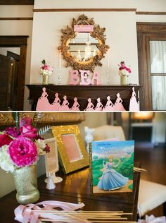 cinderella themed parties | Cinderella Inspired} Princess Themed Baby Shower // Hostess with the ...