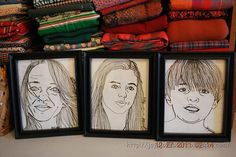 "Learn how to ""thread sketch"" - machine embroider from a photo"
