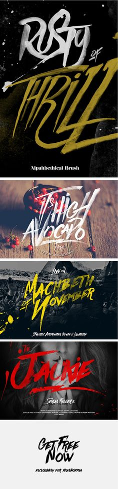 In need of a Hand Drawn Brush Script Font? Take a look at Againts – unique and modern typeface inspired by ink & tints to make a natural messy. You can use Againts typeface for movie sceen, film title, gigs, labeling, clothing, or cover album. Have fun with it!