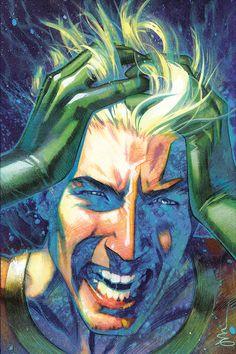 The Art of Joshua Middleton: Aquaman