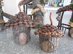 fairy home free from mother nature..... what could be more perfect!