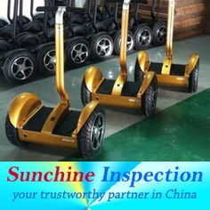 Two wheels Self-balancing scooter / Electric Chariot / High QC / Initial Production Check / Inspection service in China