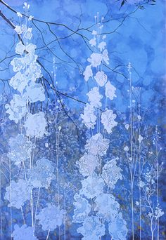 Blue Garden by Eyvind Earle