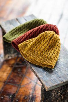 Beautiful Eno knitting pattern by Jared Flood of Brooklyn Tweed. Brooklyn Tweed, Knitting Projects, Crochet Projects, Knit Crochet, Crochet Hats, Autumn Crochet, Crochet Birds, Crochet Food, Crochet Animals