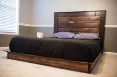 Recycled Wooden Pallet Bed Plans