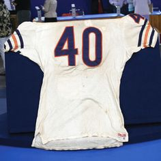 1969-1970 Gale Sayers Jersey Brian's Song, Gale Sayers, Antiques Roadshow, Bears, Kid, My Style, Sports, Child, Hs Sports