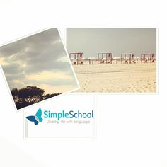 Goodbye Summer! Today is the last day of Summer. We will miss the warm weather the late sunsets and the beautiful beaches in New York and New Jersey! Did you know that it is common to say 'shore' when talking about going to the beach in New Jersey?  #simpleiscool #simpleenglish #simpleusa #rockawaybeach #jerseyshore #staysimple