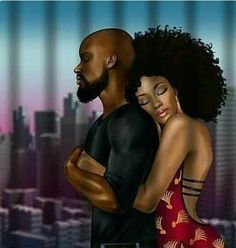 One if these days black couple art, black love couples, art love couple, Black Couple Art, Art Love Couple, Image Couple, Black Love Couples, Sexy Black Art, Black Love Art, Black Girl Art, Art Girl, Black Art Painting