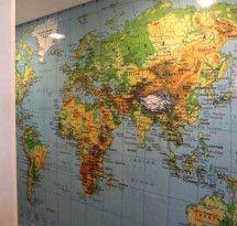 Adesivo de Parede – Mapa-Múndi Educativo                                                                                                                                                                                 Mais