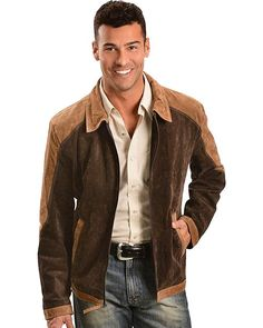 Scully Men s Leather Suede Colorblock Jacket Review 5129ee70758