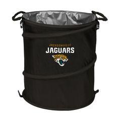 Jacksonville Jaguars Nfl Collapsible Trash Can Cooler