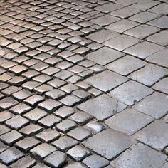 Roman paving stones