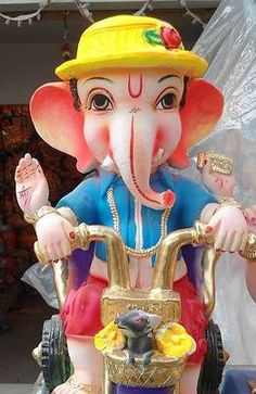 Ohh lets a cool ride with ganesha 💜❤💜❤💖💓