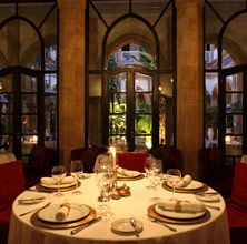 Fine dining at L'heure Bleue