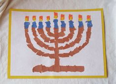 Mosaic Menorah - Pinned by @PediaStaff – Please visit http://ht.ly/63sNt for all (hundreds of) our pediatric therapy pins