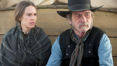 Hilary Swank and Tommy Lee Jones star in this characterful western drama. The Homesman