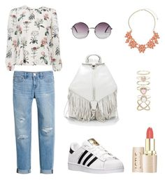 """Essential Spring Outfit"" by roses-s on Polyvore featuring White House Black Market, adidas, Monki, Rebecca Minkoff, Accessorize and Dorothy Perkins"