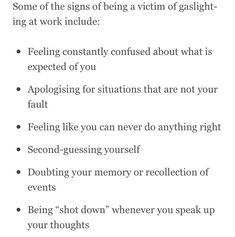 Gaslighting, Do Anything, Confused, Workplace, Like You, Memories, Feelings, Life, Office Workspace