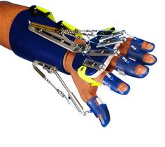 Saebo Flex: Hand function is once again possible. The SaeboFlex allows individuals suffering from neurological impairments such as stroke the ability to incorporate their hand functionally in therapy and at home by supporting the weakened wrist, hand, and fingers.  #stroke #strokerecovery