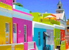 20 fotos e ideas para pintar la fachada de una casa. | Mil Ideas de Decoración
