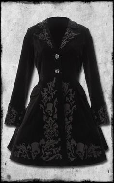 Victorian Coat by Hell Bunny