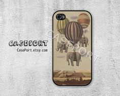 Balloon Elephant iPhone 4 Case iPhone 4s Case iPhone 4 by CasePort, $0.20