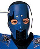 Blue Ninja PVC Child Mask . $4.99. Light, easy to wear. hides your ninja identity. Inexpensive. Child sized. This Blue Ninja PVC Mask is child sized and a great way to add an air of mystery to your Halloween festivities this season.