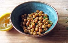 roasted chickpeas with cumin