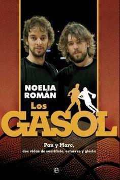 """Mi portada para el libro sobre los dos hermanos más universales del baloncesto mundial en estos momentos: """"Los Gasol"""", escrito por Noélia Román (periodista de ELPAIS, Diario Público, La Vanguardia)."""