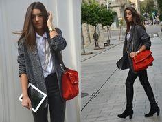 Pop of color   Male coat (by Carla Estévez) http://lookbook.nu/look/4162694-Male-coat