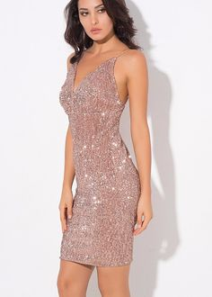 Dresses Womens Deep V Sequined Long Sleeve Bodycon Evening Dress To Win A High Admiration