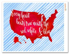 """Free Fourth of July Printable 
