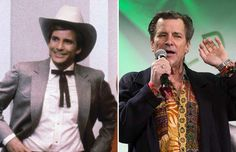 Dirk Benedict - AP; Getty Images/Getty Images (1986 and 2013)