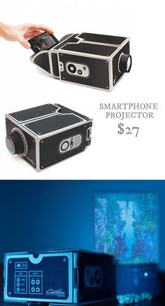 Smartphone Projector // Portable Video Projector $27