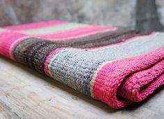 Vintage Bolivian rug/blanket