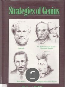 Robert Dilts/ Strategies of Genius Vol. I/ Aristotle, Disney, Mozart and Holmes/ Scribd