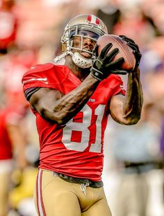 Anquan Boldin for the SF 49ers. He is a great player. I am glad they got him from the Ravens. Excellent player.