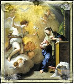 Vidas Santas: La Anunciación del Ángel a la Virgen María, Solemn...