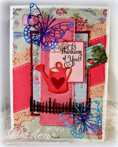 Dar's Crafty Creations: Thinking of You . . .