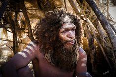Homo heidelbergensis reconstruction by Bogdan Petry