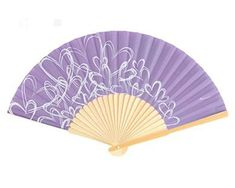 Keep your wedding guests cool by giving them attractive tropical fans. Made of bamboo, the fan are available in your choice of color and decorated with an attractive contemporary heart design. The fans will make it easier for your guests to stand the heat and will leave them with a lovely reminder of your special event!  #HandFanWeddingFavors #SummerWeddingFavors #WeddingGiftsForGuests