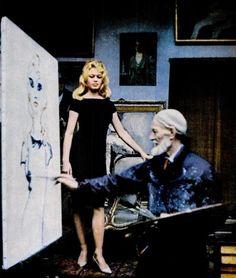 Brigitte Bardot and Kees van Dongen  www.artexperiencenyc.com