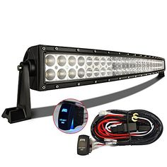 70 best led light bar images on pinterest led light bars led work looking for the best top rated mictuning 22 curved led work light bar combo off road lamp w rocker switch wiring kit aloadofball Choice Image