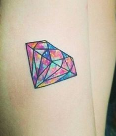 Do you love diamonds? Check out these amazing diamond tattoo designs which can add a creative bling to your body! Diamond Tattoo Meaning, Diamond Tattoo Designs, Diamond Tattoos, Henna Tattoo Designs Simple, Tattoo Designs And Meanings, Tattoo Designs For Women, Cute Tiny Tattoos, Badass Tattoos, Traditional Diamond Tattoo