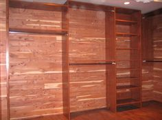Cedar Lined Closet Benefits