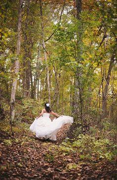 Vintage Fall Mountain Wedding
