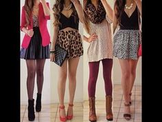 Cute! Comment down below your fav 1,2,3, or 4? :) teen tumblr outfits